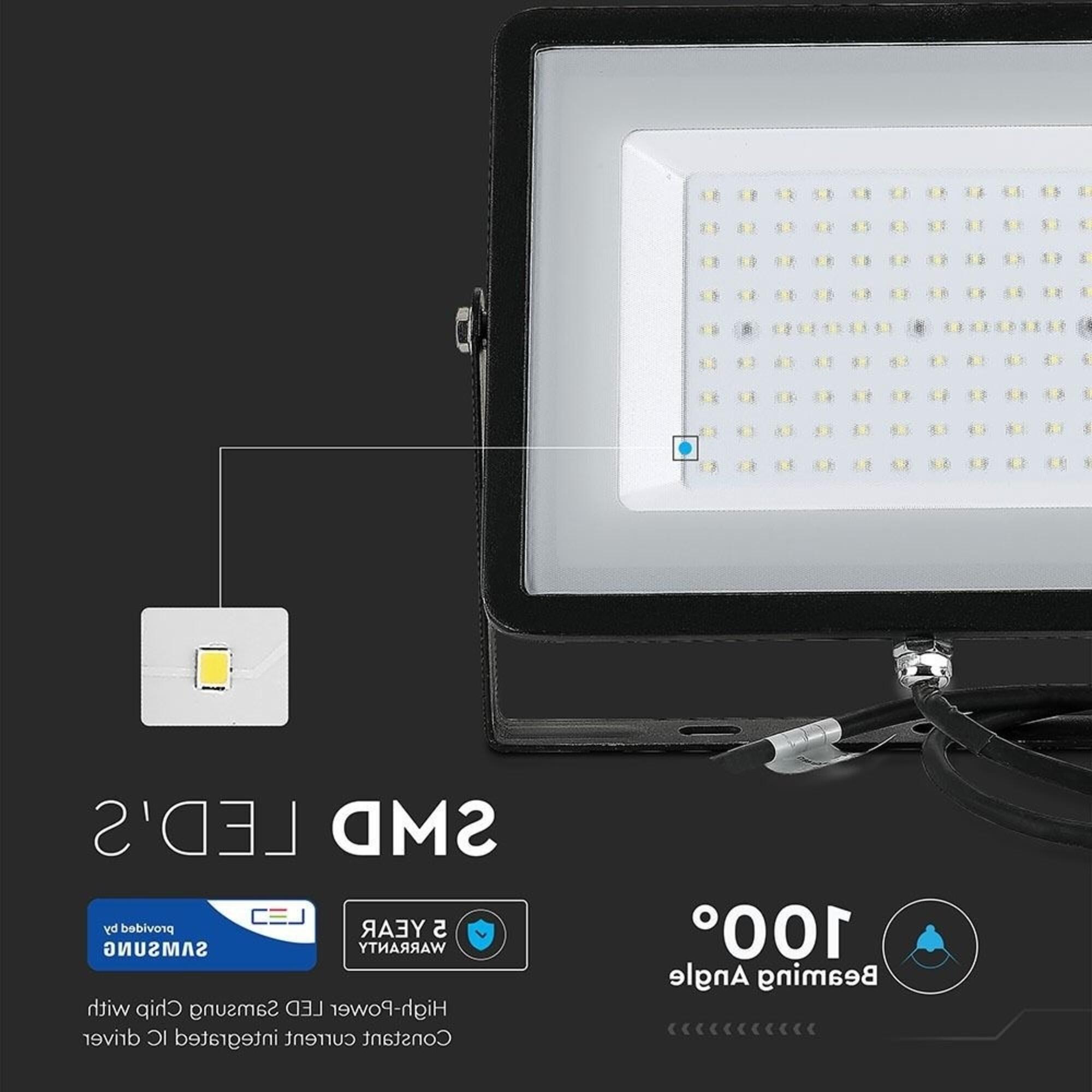 Projecteur led 100w fiche technique