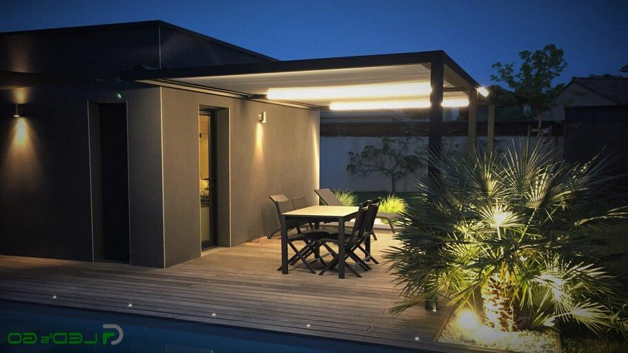 Quel flux lumineux pour terrasse ?