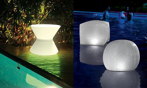 Quelle puissance éclairage piscine ?