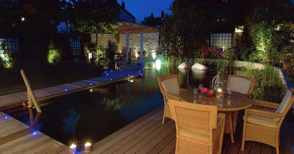 Quelle puissance pour éclairer une terrasse ?