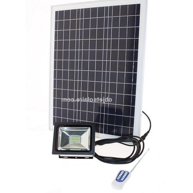 Projecteur led solaire puissant